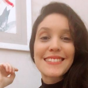 Psicóloga Geisa Macedo Moreira